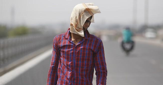 India records its hottest temperature ever amid heat wave
