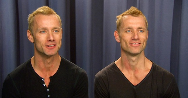 Identical acrobat twins make you see double at 'Paramour'