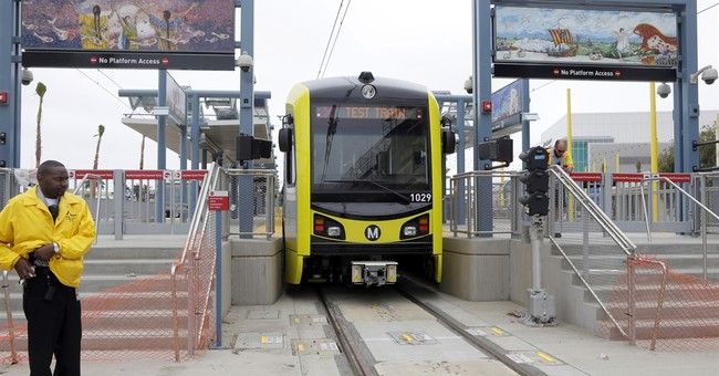 LA-area light rail now reaches from distant suburbs to sea
