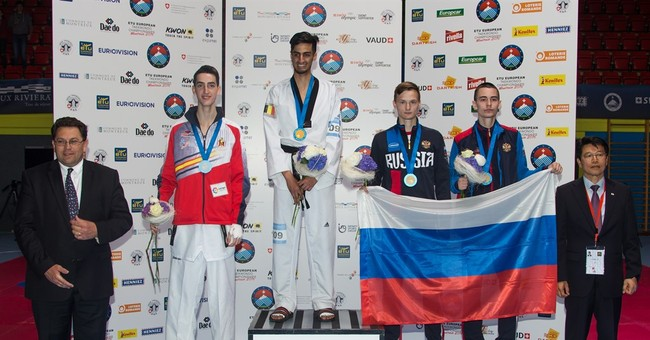 Brother of Brussels bomber wins European taekwondo gold