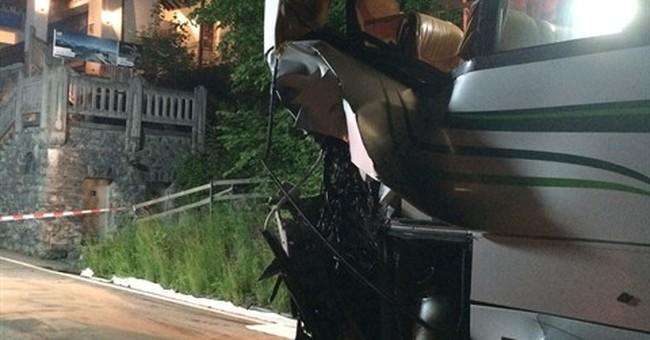 17 Taiwan tourists injured in train-bus crash in Switzerland