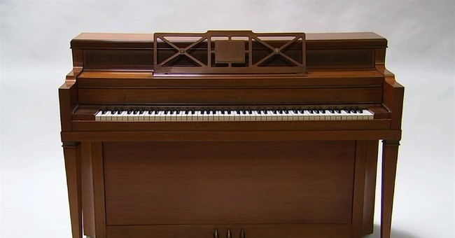Lady Gaga's childhood piano doesn't sell at auction