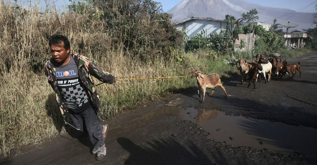 7 dead after volcano erupts in western Indonesia