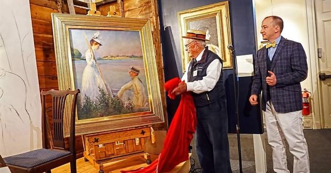 Long-forgotten Edmund Tarbell painting restored