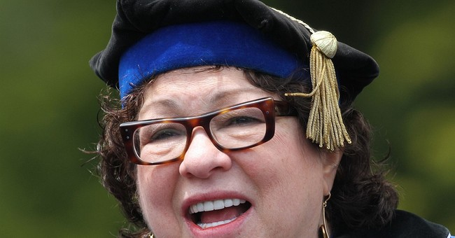 Sotomayor to graduates: Learn from your mistakes