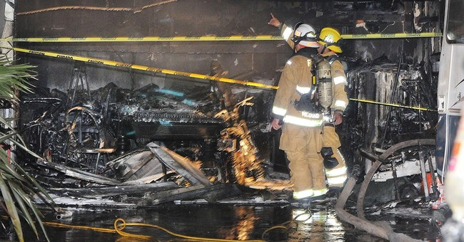 7-year-old boy wakes up dad, pair escapes house fire