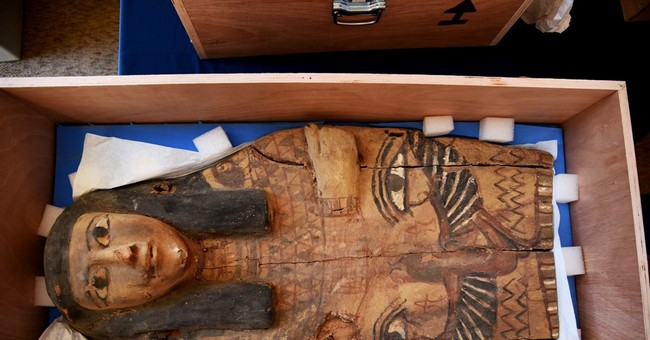 Israel returns sarcophagus covers to Egypt as relations warm
