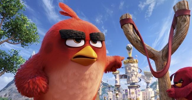 'Angry Birds' flocks to No. 1 over 'Neighbors,' 'Nice Guys'