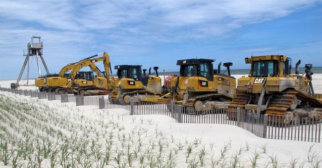Stormy winter shrinks some NJ beaches, but shore towns ready