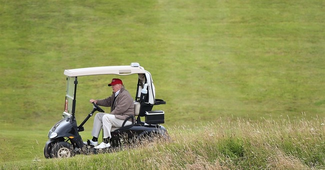 Trump proposes wall to protect golf resort from rising seas