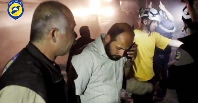 Hospital attack caught on camera shows cost of Syrian war