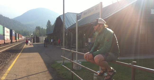 Skip the flight, board the train to Glacier National Park
