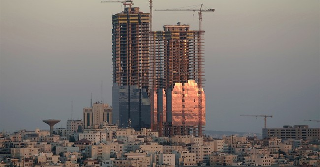 Half-built twin towers in Jordan's capital to be completed