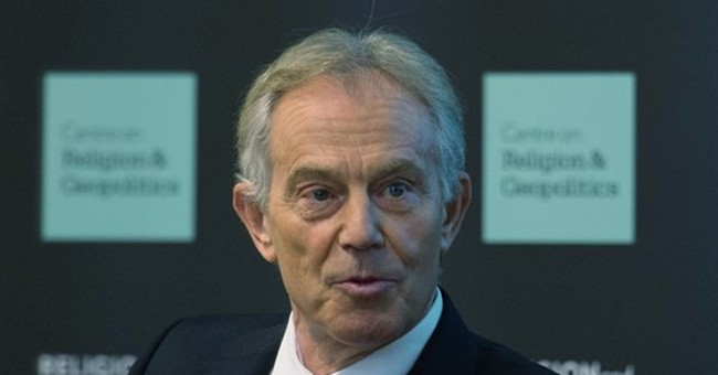 Tony Blair says defeating IS requires 'proper ground war'