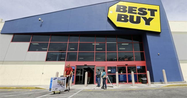 Best Buy offers weak profit view, says CFO stepping down