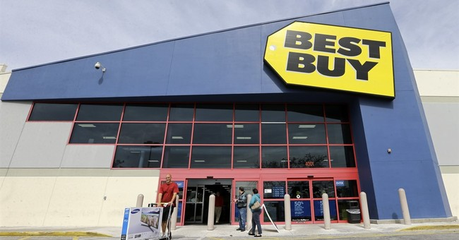 Best Buy offers weak profit view, says CFO stepping down