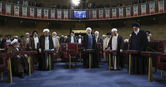 Hard-line cleric voted leader of Iran's Assembly of Experts