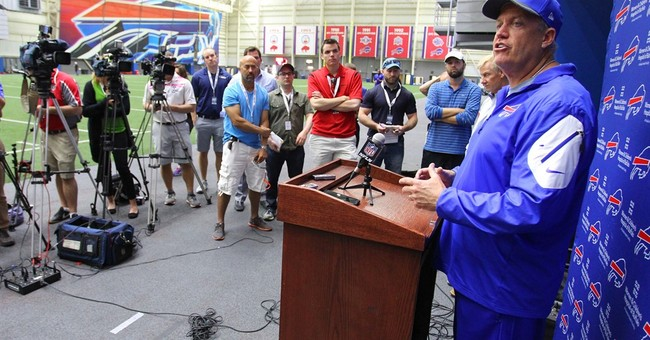 No scoops for you: Bills media policy has many restrictions