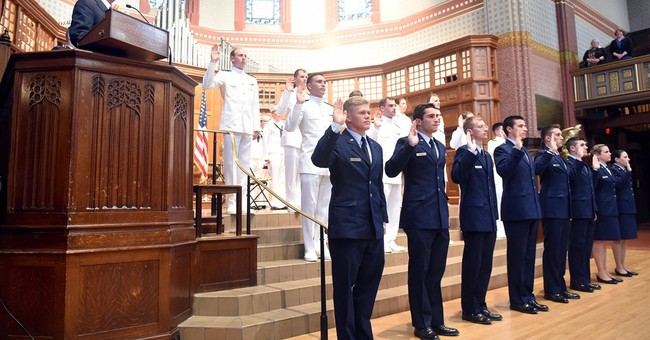 Yale commencement includes first ROTC graduates since 70s