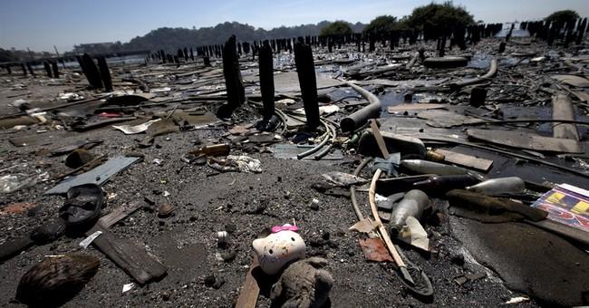 Sailors' nightmare in Rio Olympics: plastic bags, trash