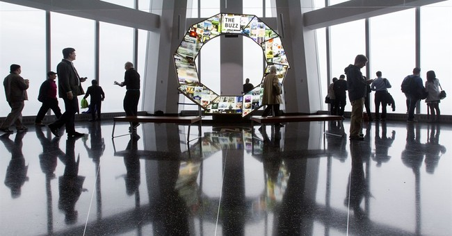 World Trade Center observatory marks anniversary