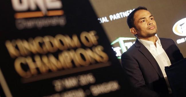 MMA comes to heartland of Thai kickboxing