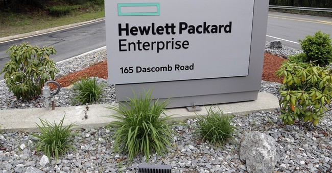 HP Enterprise gets smaller by selling services division