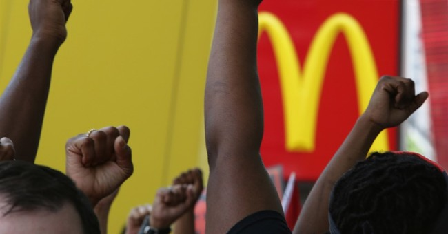 Protests resume as McDonald's shareholders meet