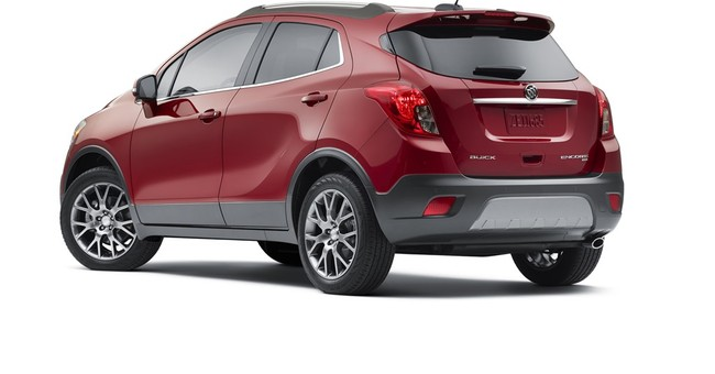 2016 Buick Encore Sport Touring adds new turbo engine