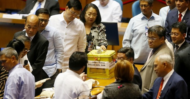 Philippine Congress starts counting presidential, VP votes