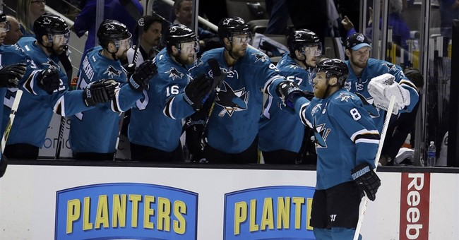 Sharks head to 1st Cup final after 5-2 win over Blues