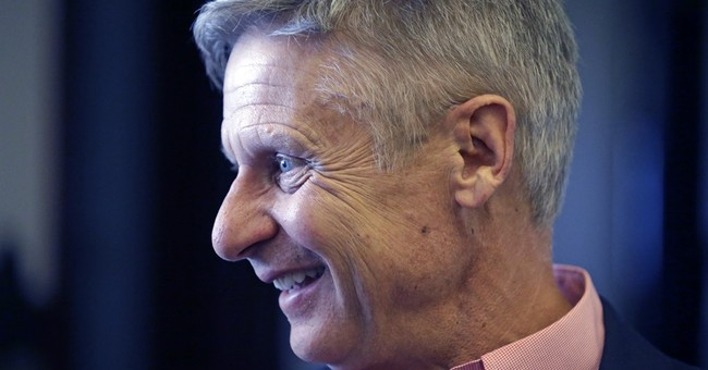 Libertarian Gary Johnson to never-Trumpers: 'I'm it'