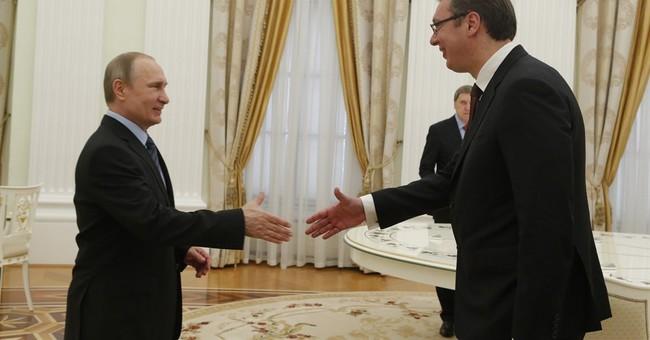 Serbia under pressure from Russia over its EU goals