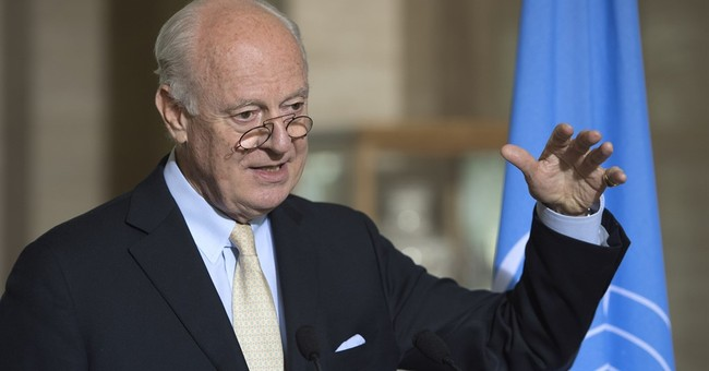 UN envoy to Syria: Peace talks not set to resume for weeks
