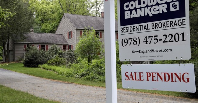 Pending US home sales hit highest level since February '06