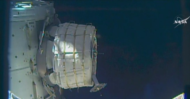NASA taking another stab at inflating space station room