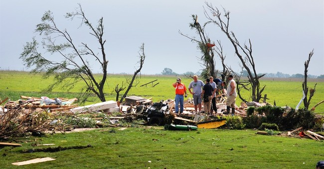 More severe weather and tornadoes roil Plains; no injuries