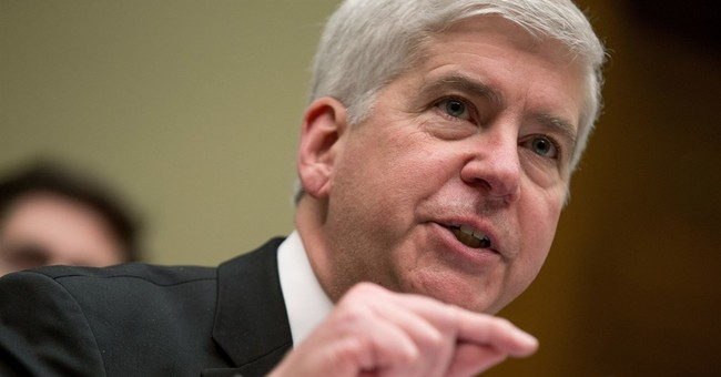Snyder halts internal Flint probes after prosecutors object