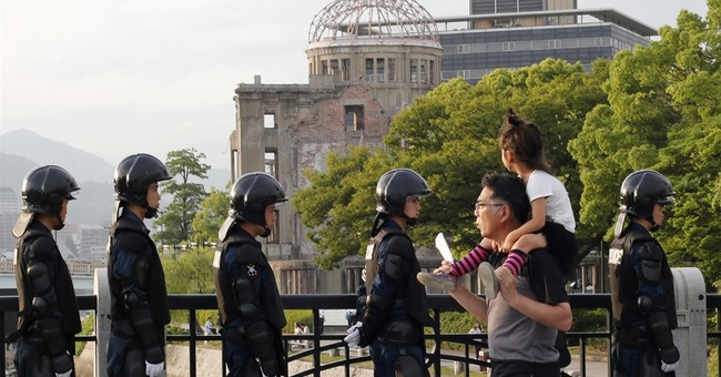 Obama ready to face historic, haunted ground of Hiroshima