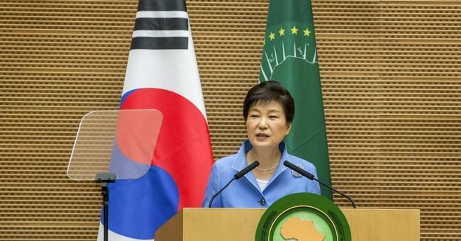 South Korea leader seeks African support against North Korea