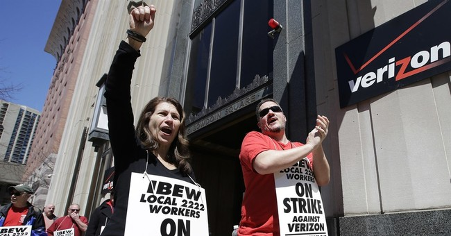 Verizon, unions reach deal in principle for 4-year contract
