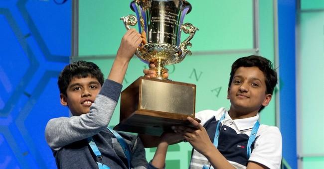 National Spelling Bee ends in its unlikeliest tie to date