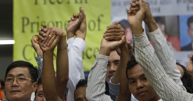 3 Cambodian commandos jailed for attack on legislators