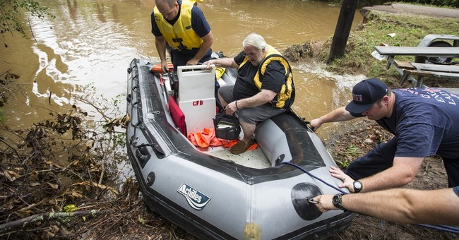 The Latest: Another Texas city orders residents to evacuate