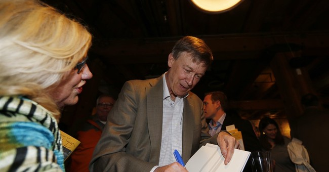 Colorado governor's book raises Clinton veep speculation
