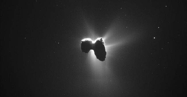 Space probe confirms chemicals of life in comet's halo