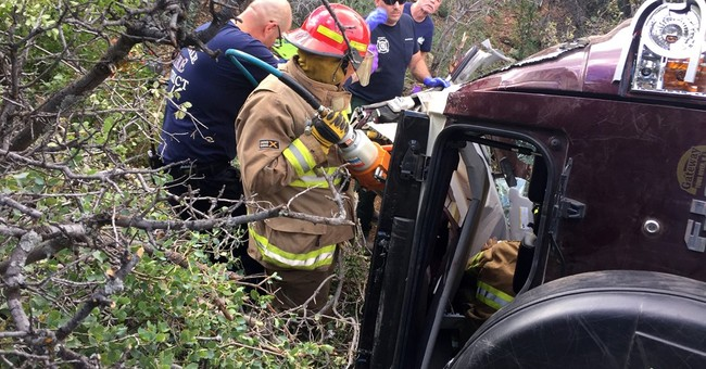 Arizona man rescued after being trapped in car for 3 days