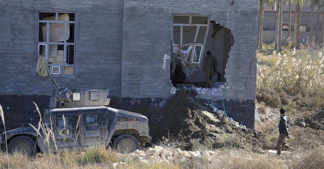 Militants' use of human shields in Ramadi slows progress