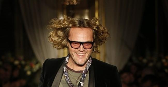 Peter Dundas makes Cavalli menswear premiere
