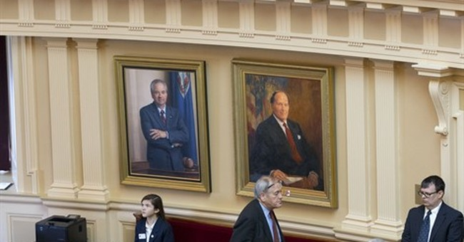 Virginia, Missouri limit media access at state Capitols